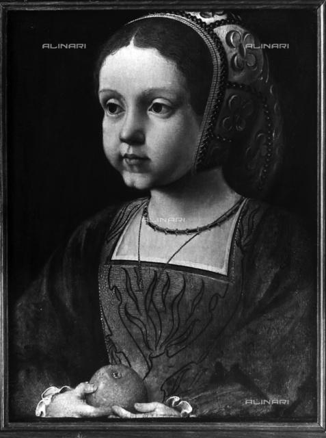 Child portrait of Eleonore of Austria, Museum of the Castles of Versailles and Trianon, Versailles.