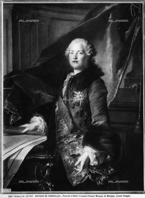Portrait of the Marquis of Marigny, Abel Francois Poisson, Museum of the Castles of Versailles and Trianon, Versailles.