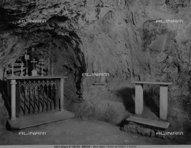 Grotto of the Shepherds near Subiaco