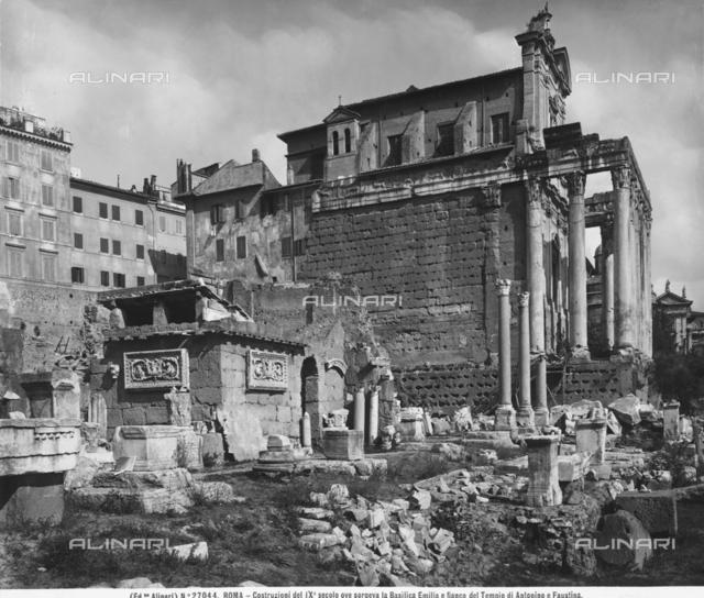 Basilica Aemilia, Roman Forum, Rome