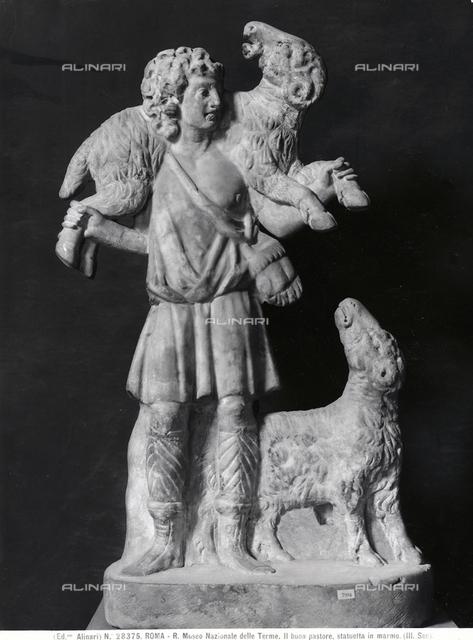 The Good Shepherd, Museum Nazionale delle Terme, Rome