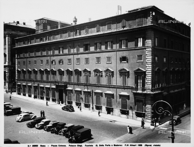 Palazzo Chigi, Rome
