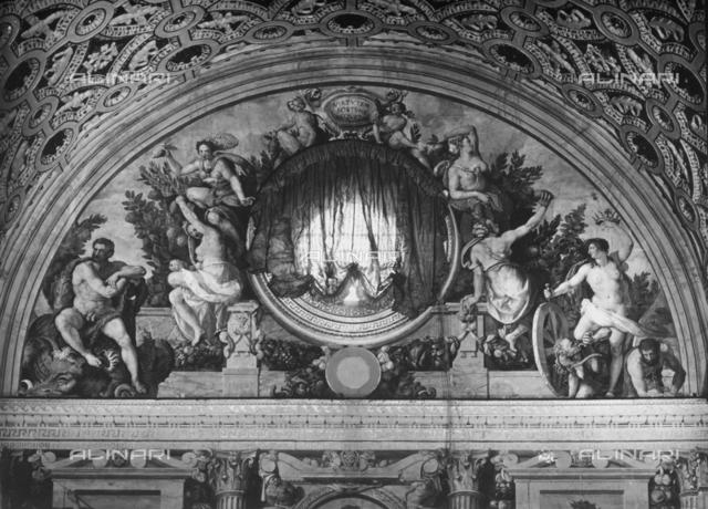 The Garden of the Hesperides, central hall, Medici Villa of Poggio a Caiano, Prato