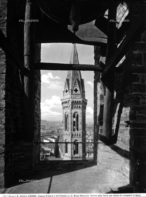 Bell tower, Badia Fiorentina, Florence