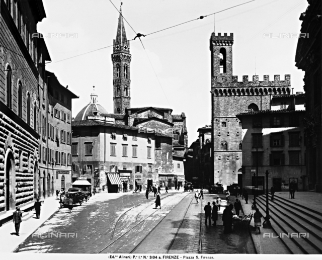 Piazza San Firenze in Florence