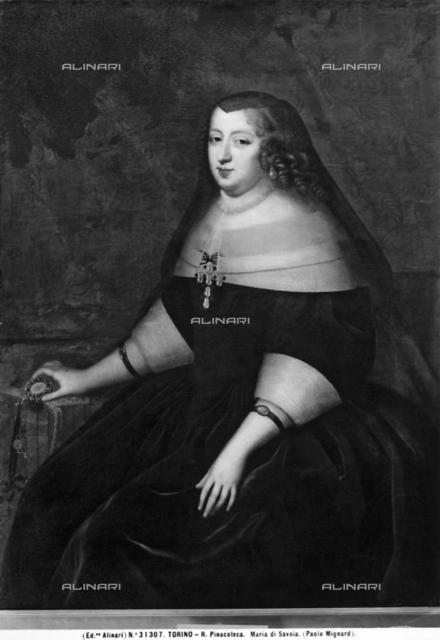 Portrait of Maria of Savoy, Galleria Sabauda, Turin