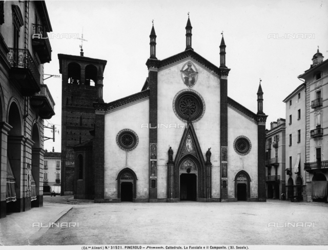 The cathedral of San Donato in Pinerolo