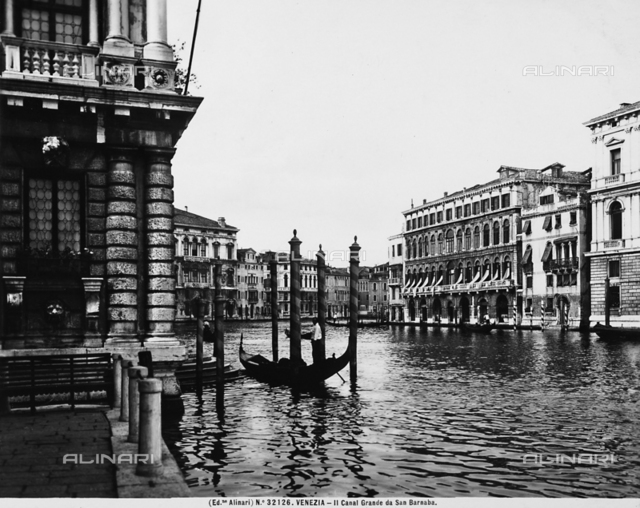 The Grand Canal in Venice, seen from San Barnaba
