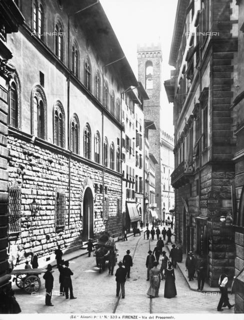 Via del Proconsolo in Florence