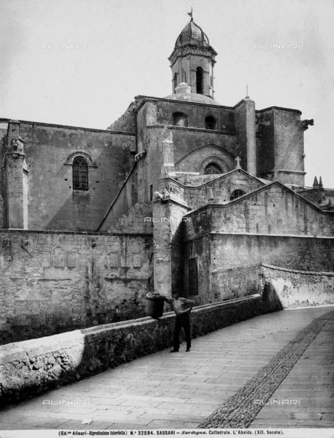Cathedral of San Nicola, side, Sassari.