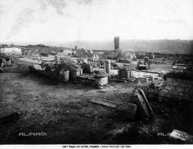 Ruins of Ferento, in Lazio