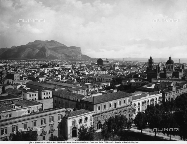 Panoramic view of the city of Palermo
