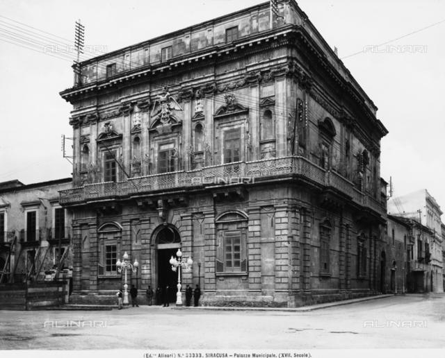 Palazzo Vermexio, formerly Palazzo del Senato, Syracuse