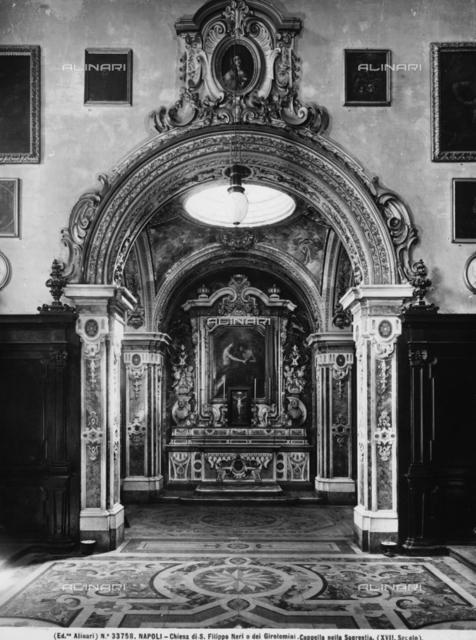 Sacristy chapel, Church of the Girolamini (or Church of San Filippo Neri), Naples