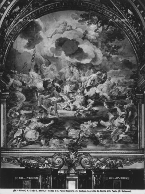 Conversion of Saint Paul, sacristy, church of San Paolo Maggiore, Naples