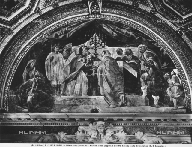 Circumcision, church of the Carthusian monastery of San Martino, Naples