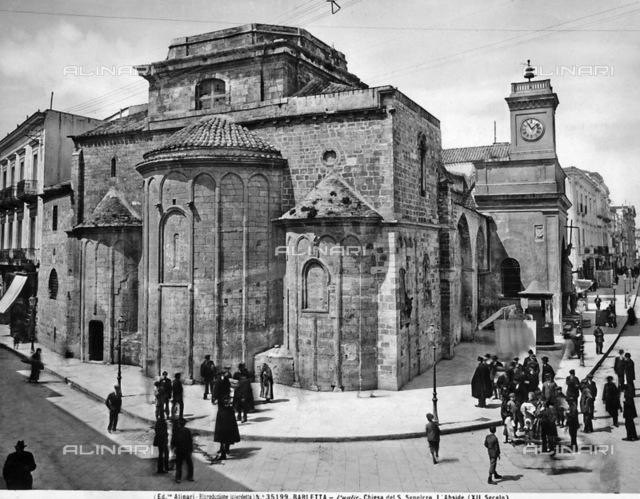 Apse of the Church of S. Sepolcro in Barletta.
