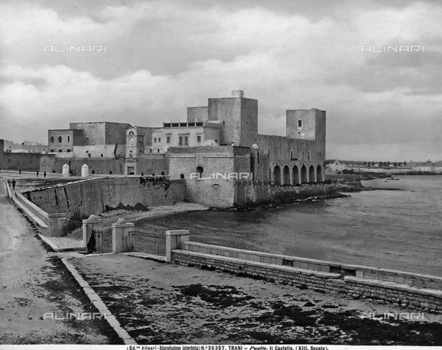 Castle, Trani, Province of Bari.