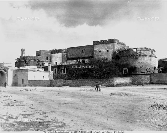 Fortress or dè Monti castle, Corigliano d'Otranto, Lecce