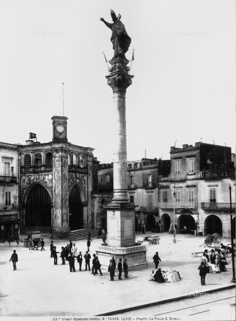 Colonna di Sant'Oronzo - Piazza Sant'Oronzo, Lecce