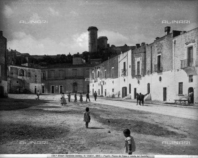 Castle, Oria, Brindisi
