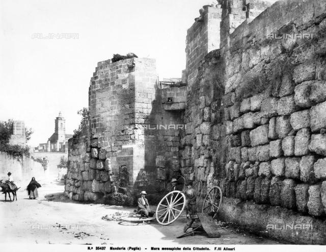 Megalithic walls, Manduria, Taranto