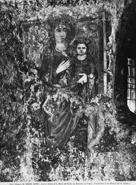 Madonna and Child, Church of the Madonna del Parto, Sutri