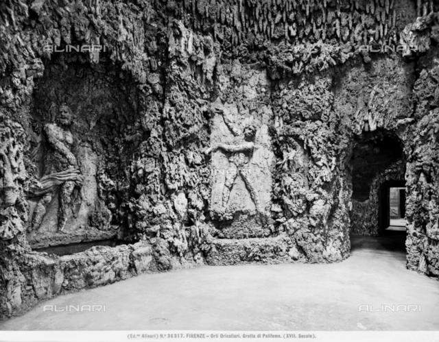 Grotto of Polyphemus, Oricellari Gardens, Florence
