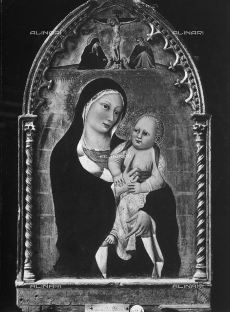 Madonna with Child, National Picture Gallery, Siena