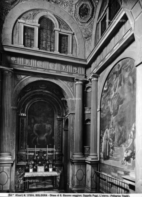 Poggi chapel, Church of San Giacomo Maggiore, Bologna,