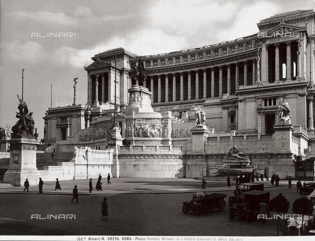 Monument to Victor Emmanuel II or Altare della Patria (Altar of the Fatherland), Rome