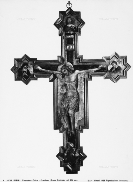 Crucifix, Picture-Gallery of the City Museum in Rimini