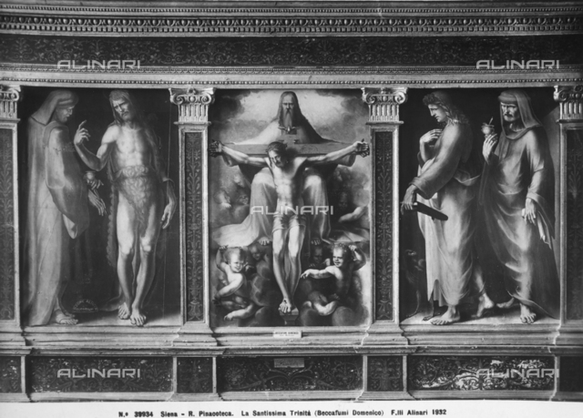 The Holy Trinity, National Picture Gallery, Siena