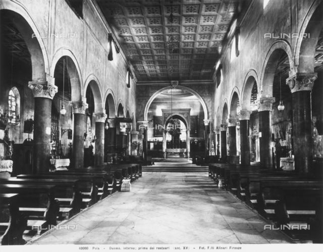Basilica of St. Mary, interior, Pula, Croatia