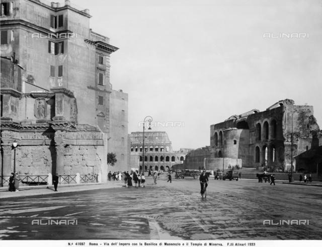 Basilica of Maxentius or of Constantine, Roman Forum, Rome