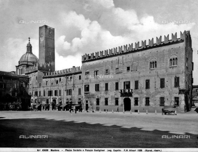 Palazzo Castiglioni, Piazza Sordello, Mantua.