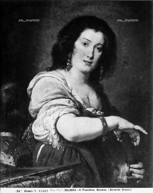 Berenice, Bernardo Strozzi, National Portrait Gallery, Bologna.