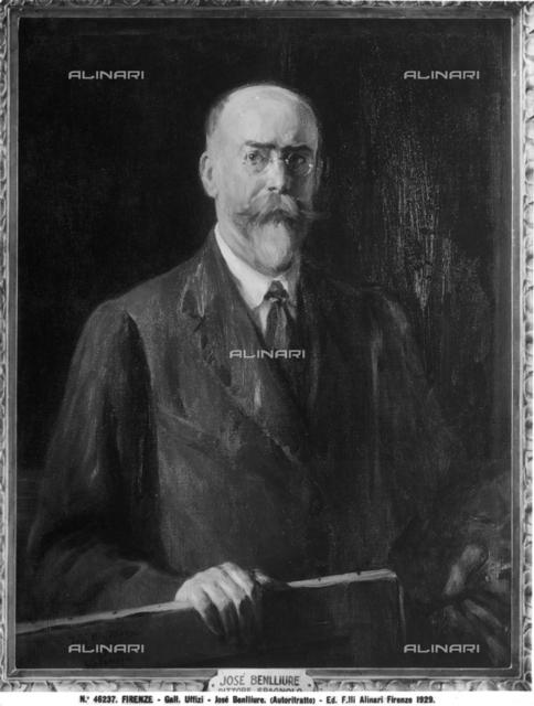 Self-portrait painting of José Benlliure
