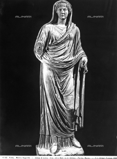 Statue of Livia, Archeological Museum, Parma