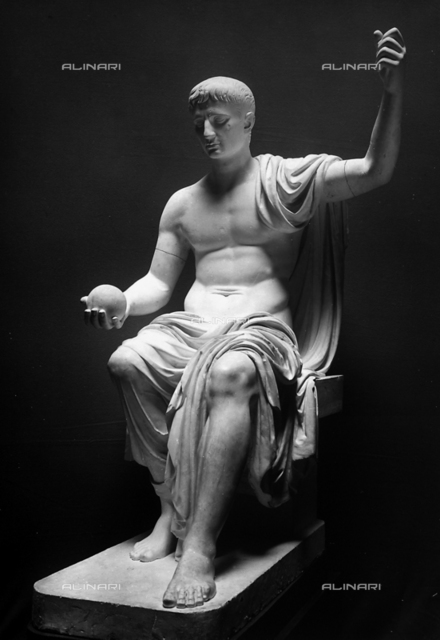 Statue of Augustus from Boville, Torlonia Museum of Rome