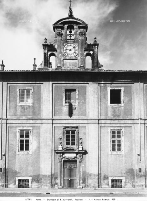Hospital of San Giovanni, San Giovanni in Laterano, Rome