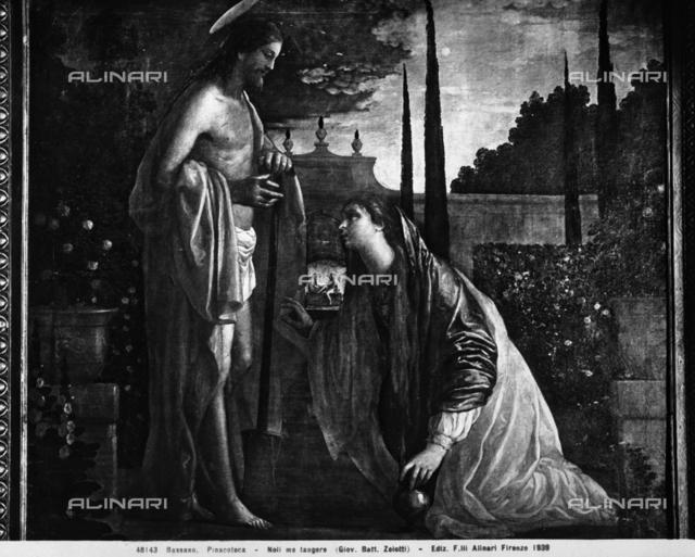 Noli me tangere, Pinacoteca, Museo Civico, Bassano del Grappa