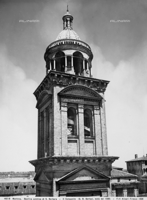 Bell tower, Church of S.Barbara, Mantua