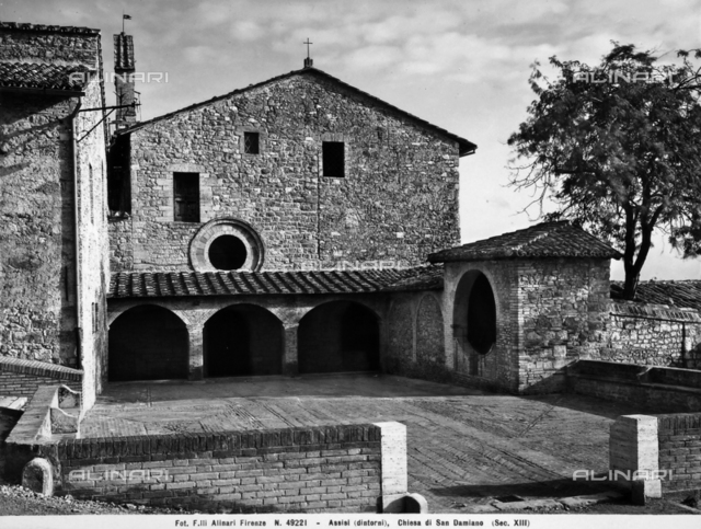 Church of San Damiano, Assisi