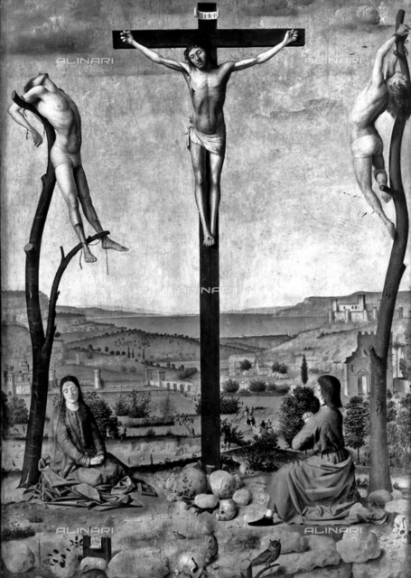 Crucifixion, Museum voor Schone Kunsten, Antwerp
