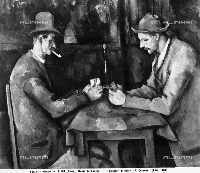 Card Players, Musée d'Orsay, Paris