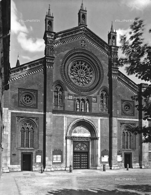 Faà§ade, Church of San Marco, Milan