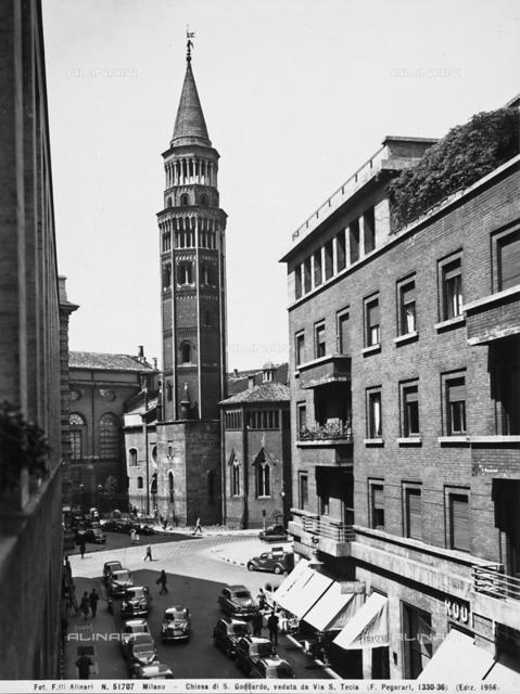 Bell tower, Church of San Gottardo in Corte, Milan