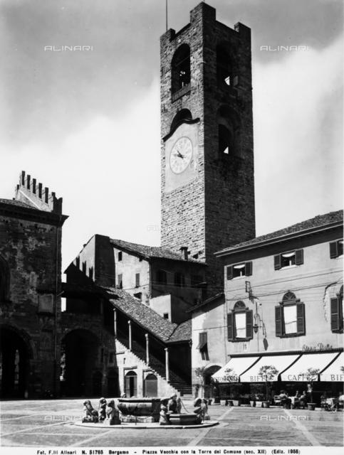 The Campanone or City Tower, Bergamo