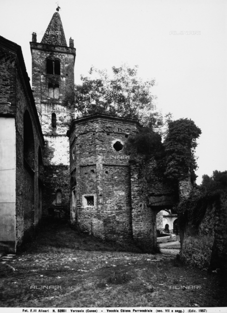 Church of castle and bell-tower, Verzuolo, Cuneo